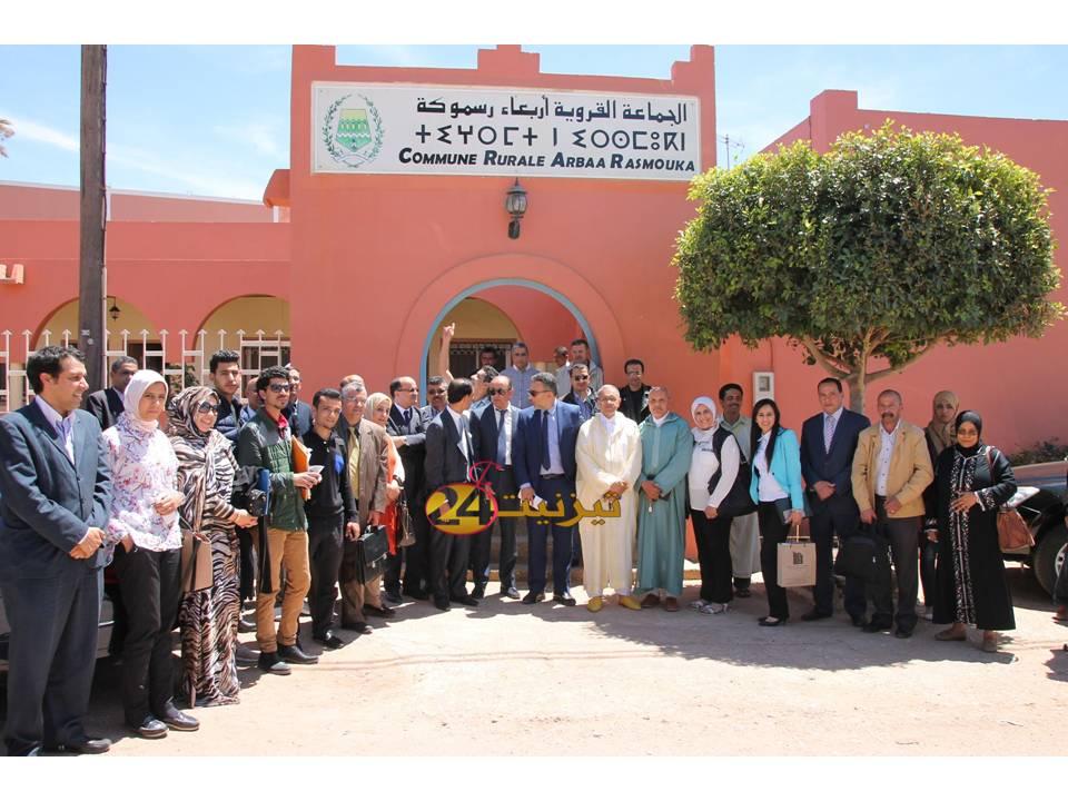 استشراف آفاق الإستثمار موضوع ورشة بجماعة أربعاء رسموكة بإقليم تيزنيت