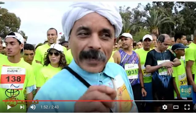 فيديو سندباد تيزنيت في ماراطون اكادير