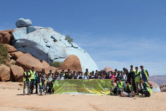 أطفال جمعية الاشعاع الثقافي في زيارة لمدينة تافراوت