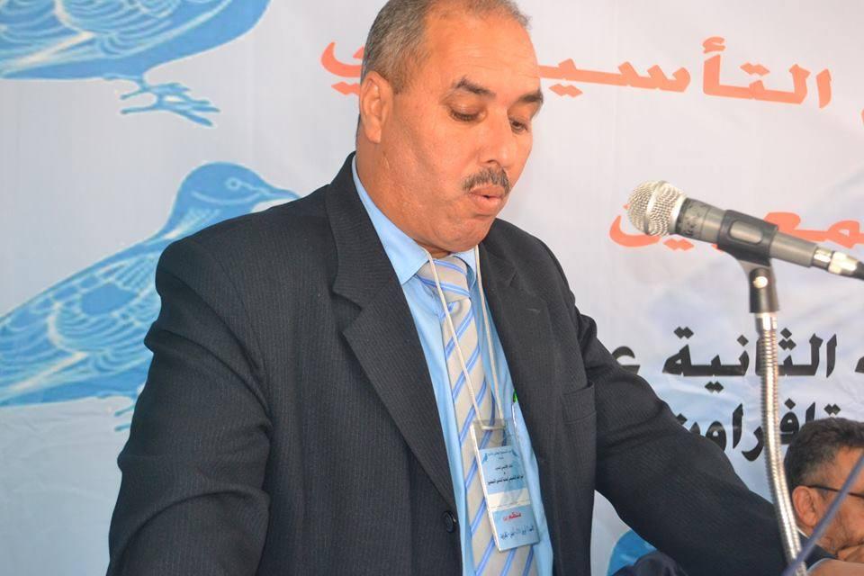 العربي عروب كاتبا اقليميا لحزب الحمامة بتيزنيت