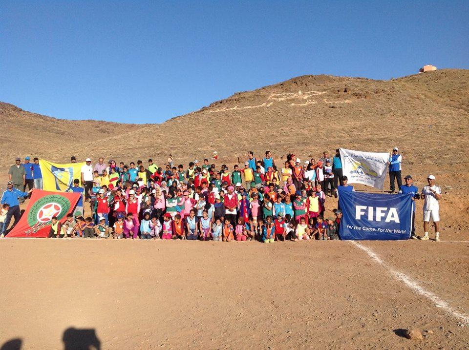 مهرجان كرة القدم القاعدية للأطفال GRASSROOTSبأفلا اغير