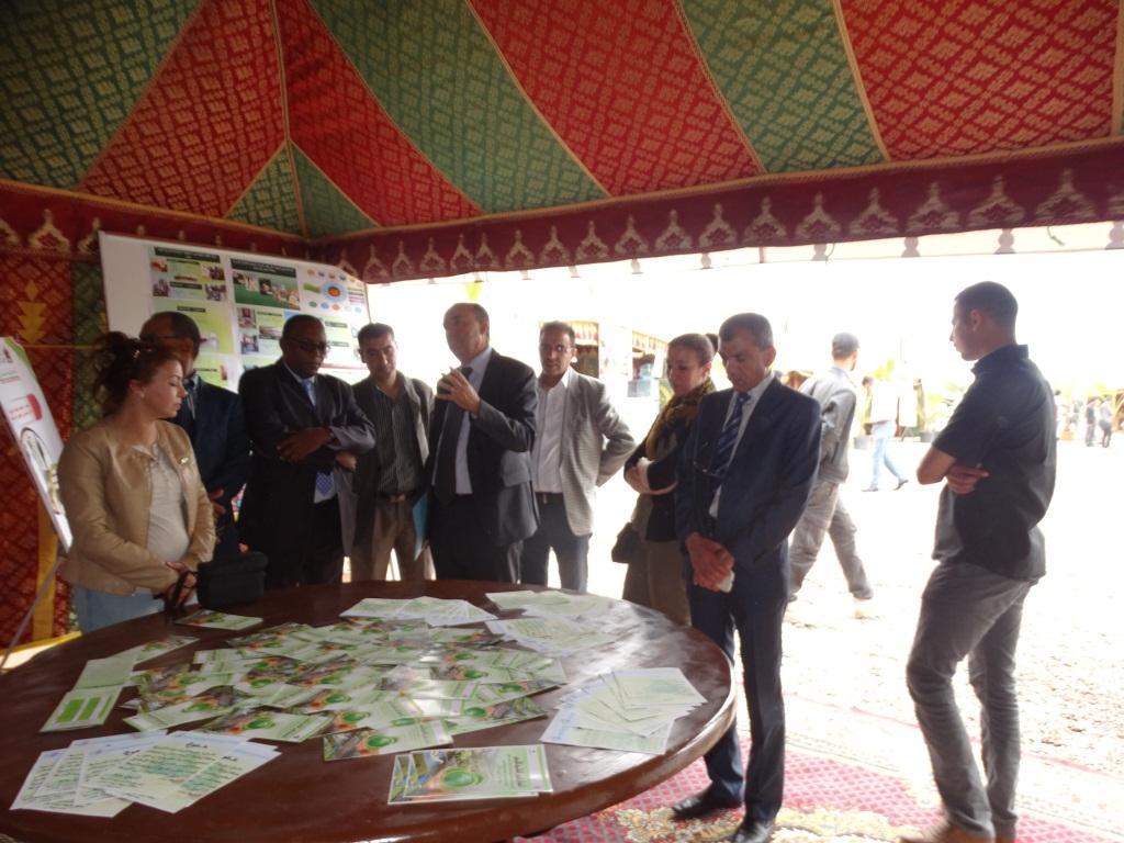 افتتاح معرض المستنبتات من طرف مؤسسة المبادرات التنموية بعمالة انزكان ايت ملول