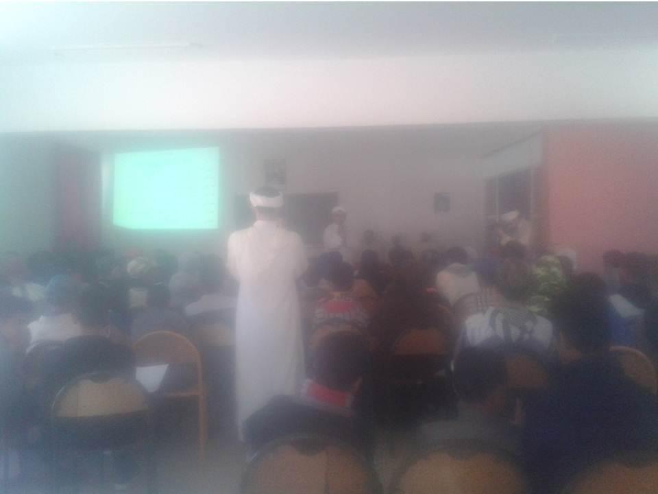 اداوسملال: ثانوية محمد البقالي الإعدادية تحتضن نشاط التوجيه المدرسي للجمعية الإحسانية اداوسملال