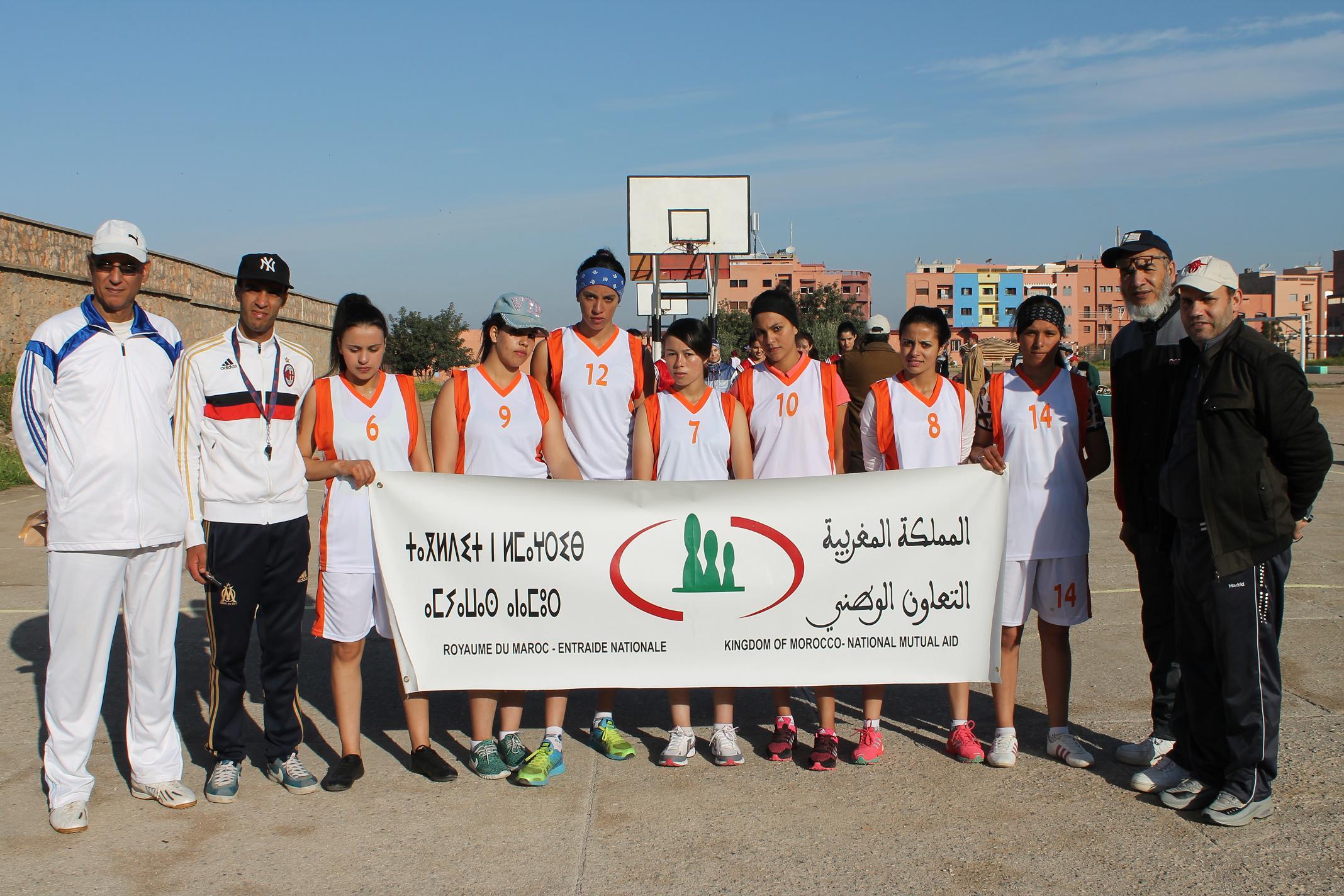 المركب الاجتماعي بني ملال يستضيف نصف نهاية الألعاب الرياضية للتعاون الوطني الدورة 43