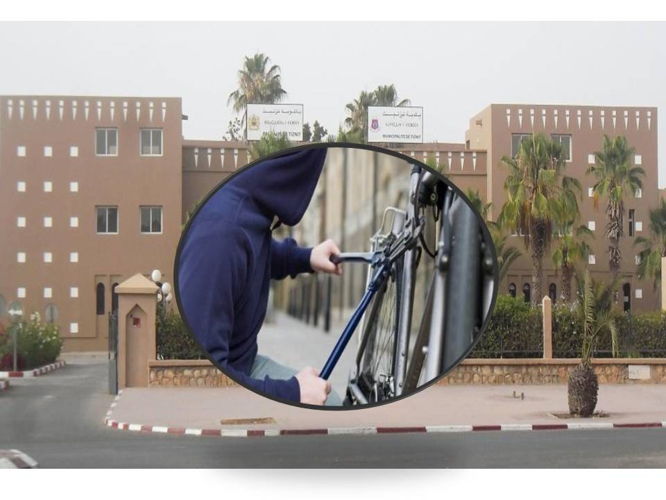 شبح سرقة الدراجات يخيم من جديد على باشوية و جماعة تيزنيت