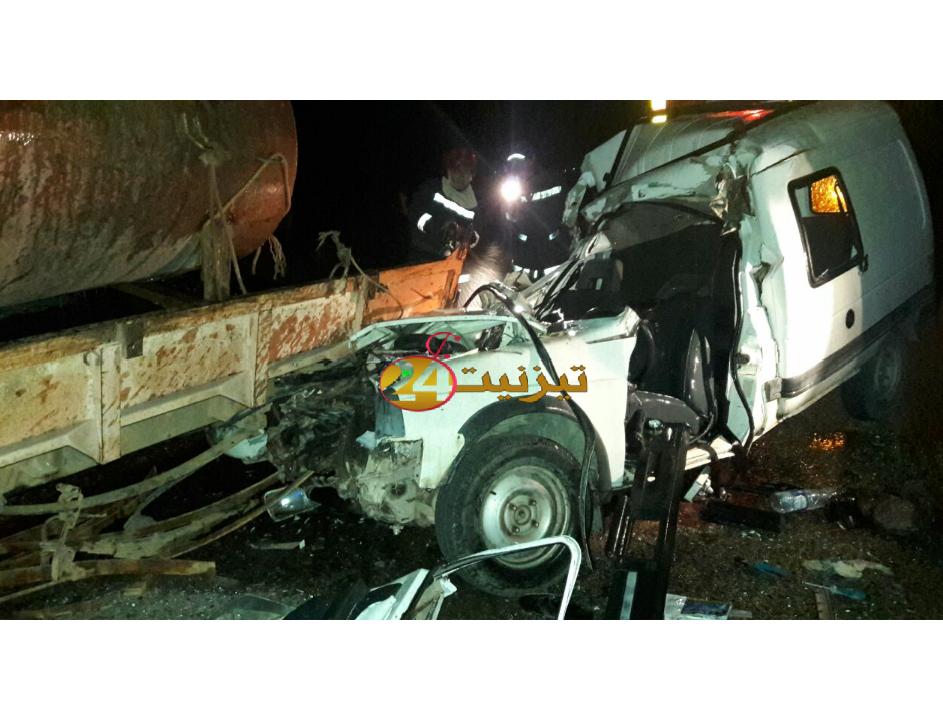 اربعة قتلى في حادث سير خطير قرب جماعة بونعمان