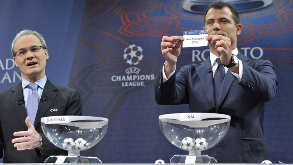ريال مدريد يواجه مانشستر سيتي بدوري ابطالاوربا