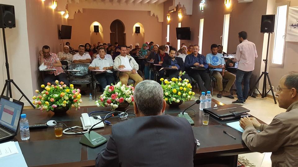 احمد الشيخي رئيسا للجمعية الديمقراطية للمنتخبات والمنتخبين الاتحاديين