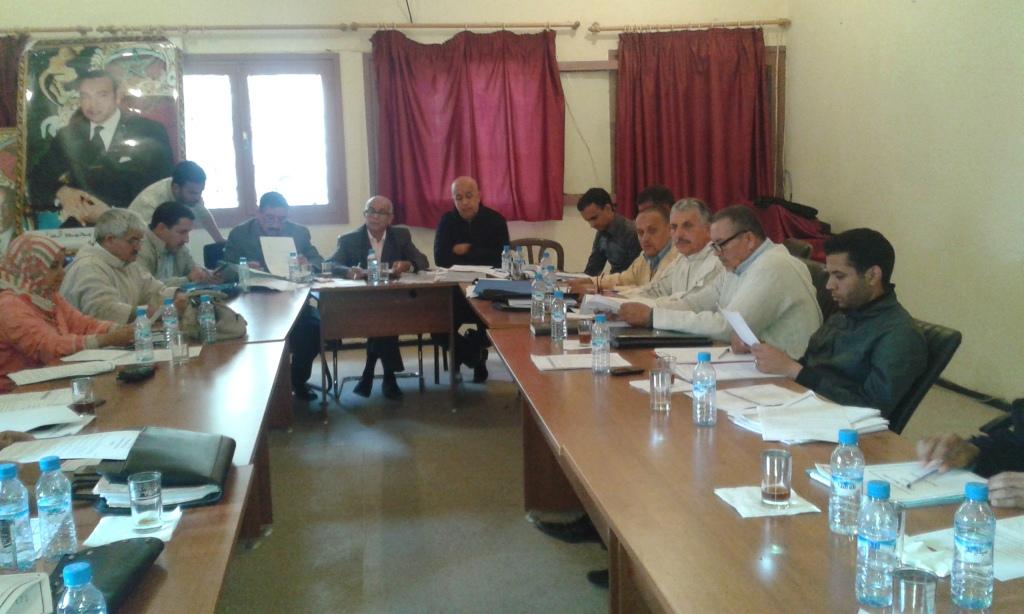 بشائر الخير تزف إلى ساكنة تيوغزة بإقليم سيدي إفني من خلال دورة ماي2016 للمجلس الجماعي.