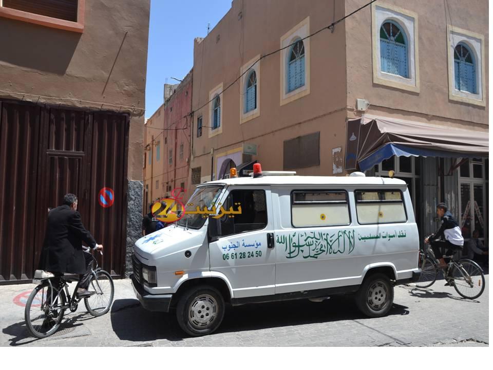 العثور على جثة مسن بمنزله الكائن  قرب المسجد الكبير بتيزنيت