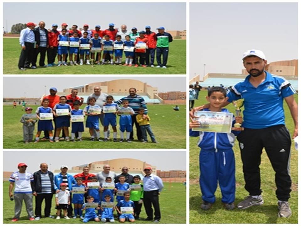 بالصور : تقرير عن دوري كرة القدم للفئات الصغرى