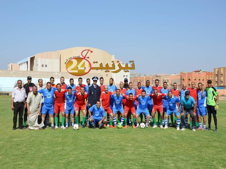 جمعية تيزنيت صداقة ورياضة تحتفي بالذكرى 60 لتأسيس الأمن الوطني