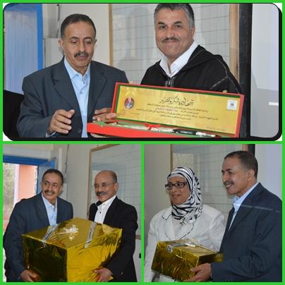 بالصور : تكريم الأستاذ عبد اللطيف الإبراهيمي