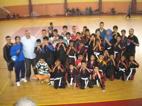 إقليم سيدي افني حاضر بقوة في التدريب الوطني للكايوان k1 بمدينة أكادير