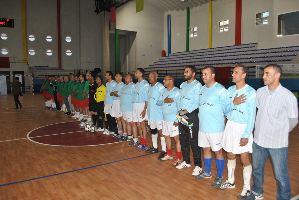 مباريات شيقة في كرة القدم المصغرة نهاية هذا الأسبوع في القاعة المغطاة أناروز
