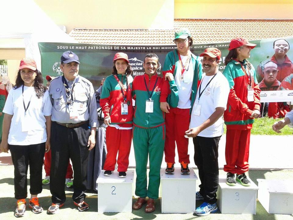 جمعية تحدي الإعاقة بتيزنيت تتالق بالدورة التاسعة للألعاب الوطنية للأولمبياد الخاص