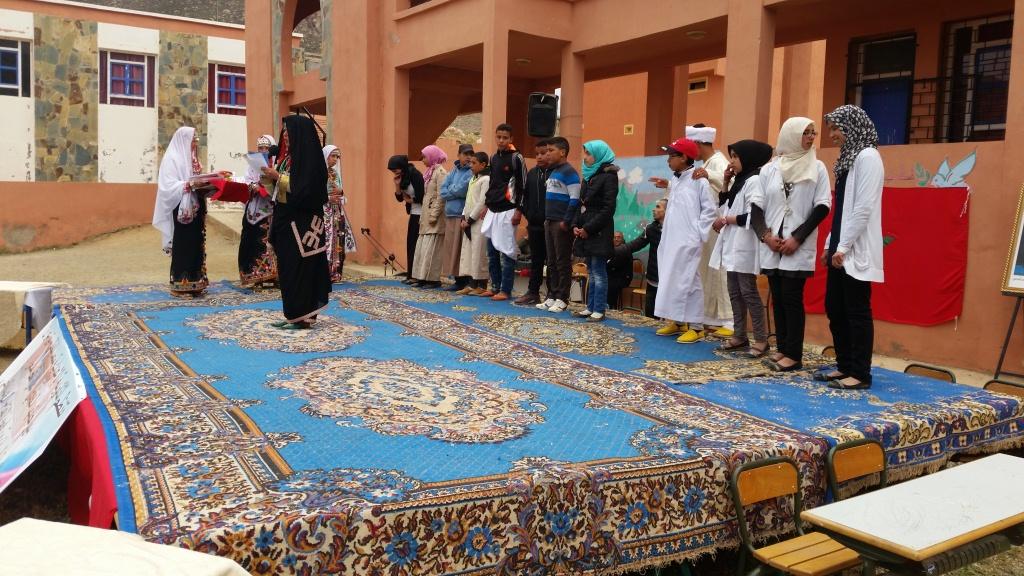 إداوسملال: اختتام المهرجان الربيعي 11 باعدادية محمد البقالي