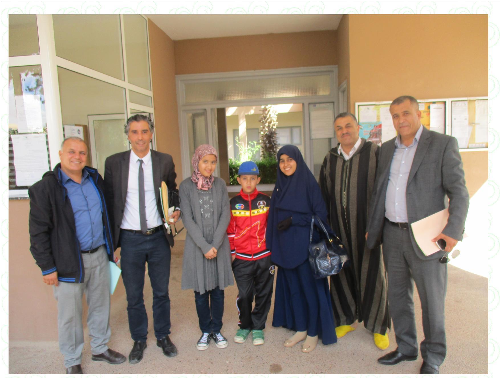 تيزنيت : التلاميذ المتأهلون للاقصائيات الوطنية من مسابقة تحدي القراءة العربي