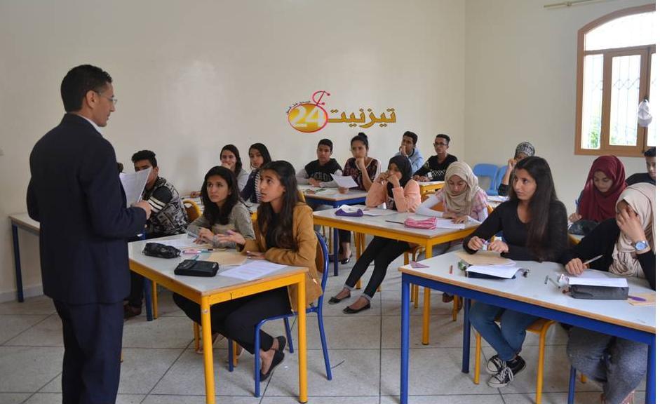 700 تلميذ و تلميذة يجتازون الامتحانات التجريبية بتيزنيت