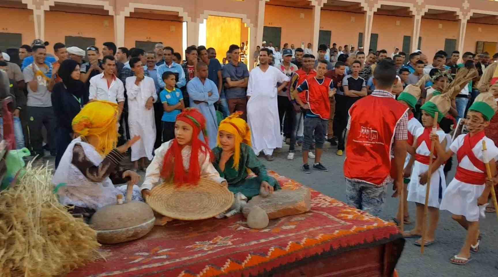 كرنفال مهرجان قصبات النقوب الأول
