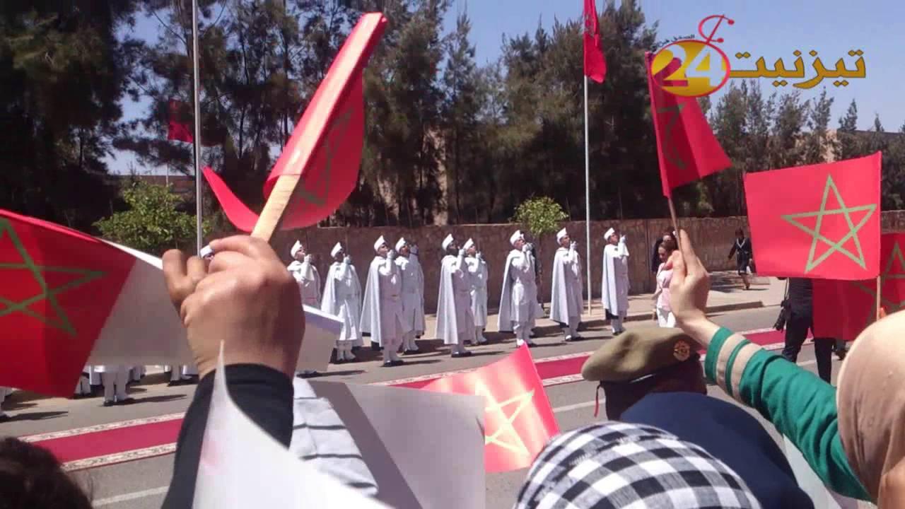 بالفيديو : جانب من زيارة الاميرة للاسلمى لمدينة تيزنيت
