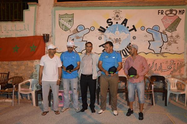 ثلاثية نادي الجمعية الرياضية أكادير تفوز بدوري نادي امل تيزنيت للكرة الحديدية