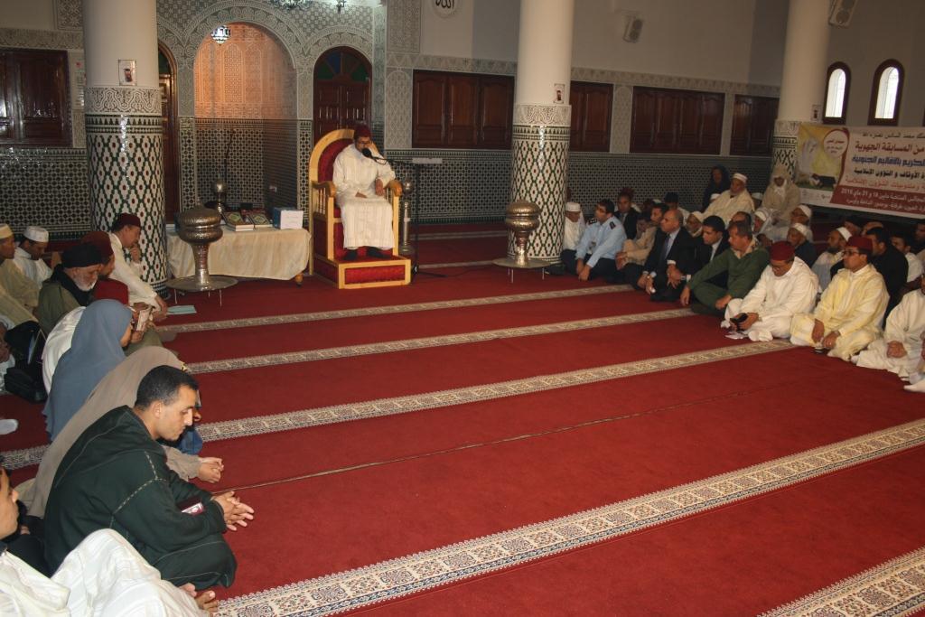 قناة العيون تنظم المسابقة الجهوية في حفظ وتجويد القرآن الكريم بافني
