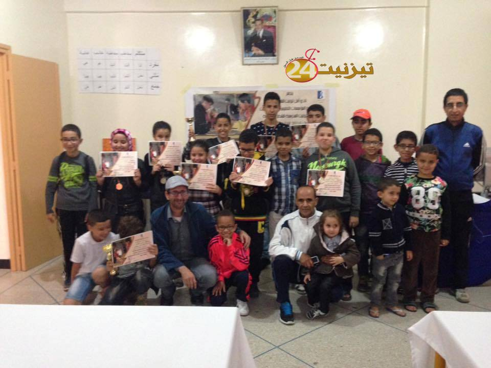 الرامي محمد بطلا  لبطولة تيزنيت المدرسية للشطرنج السابعة