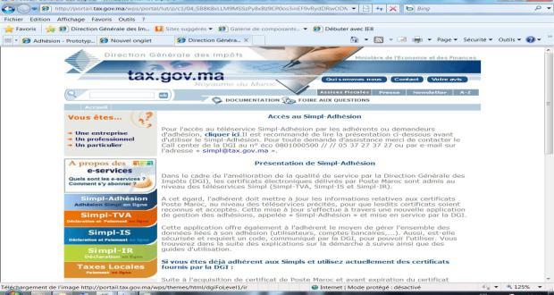المديرية العامة للضرائب تطلق خدمتين إلكترونيتين للضرائب