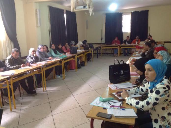 الجمعية المغربية لأساتذة اللغة الفرنسية (فرع تيزنيت ) تنظم يوما تكوينيا حول فعل القراءة و خصائصه