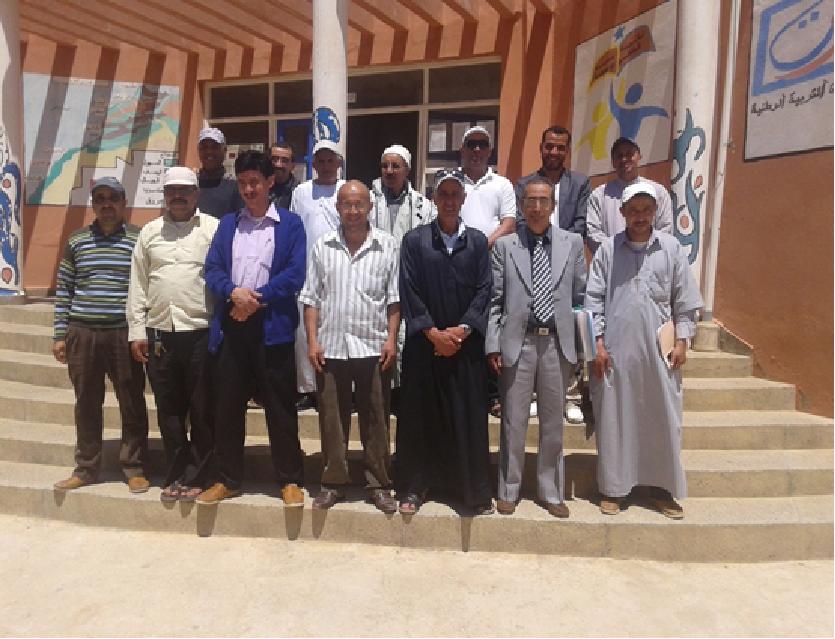 اداوسملال: جمعية آباء وأولياء تلاميذ الثانوية الإعدادية محمد البقالي تيزغران تجدد مكتبها المسير