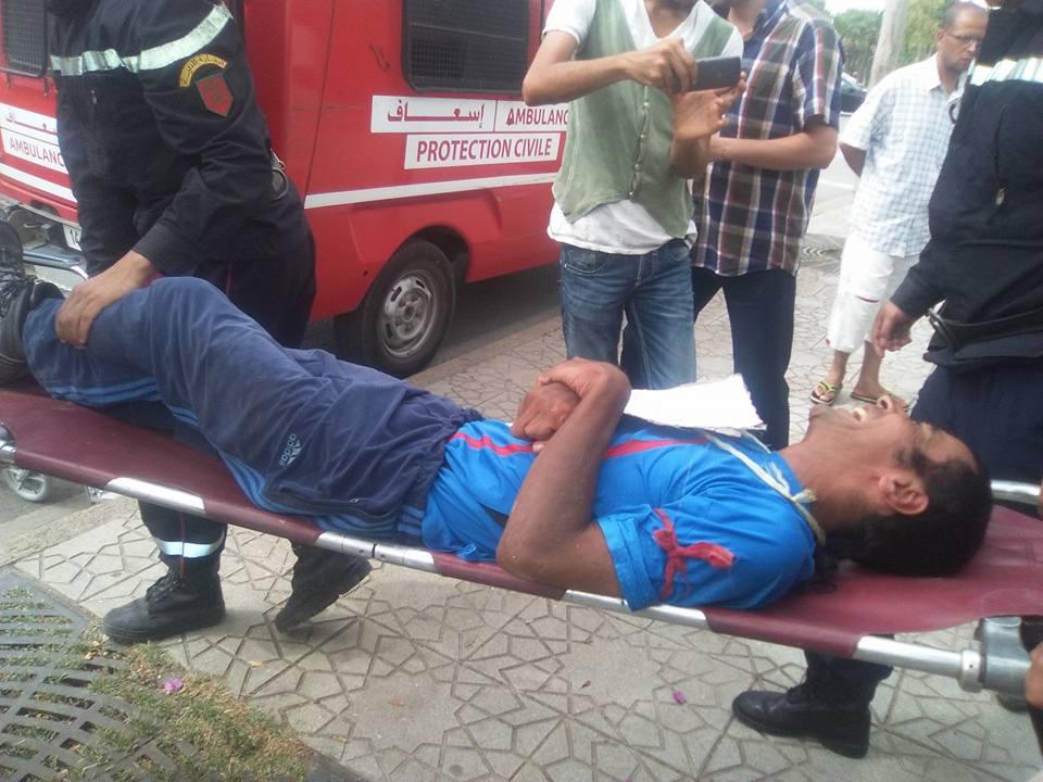 فاس : عادل اوتنيل ينقل للمستشفى بعد 40 يوما من الاضراب عن الطعام