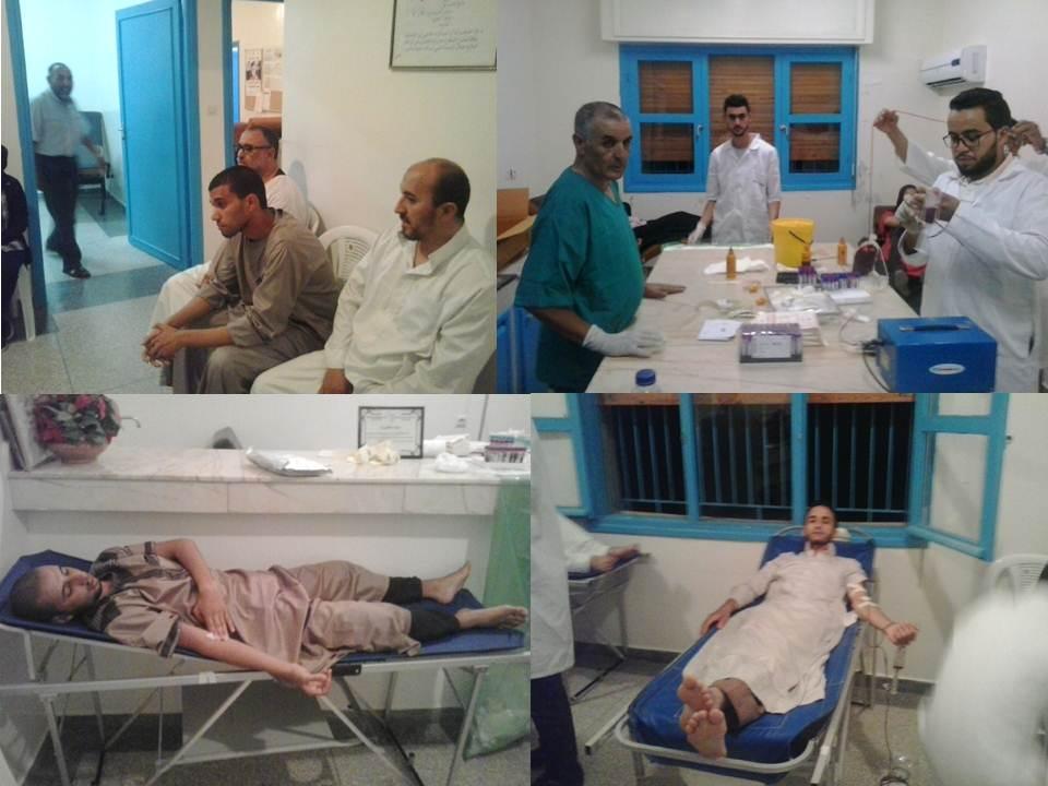 تيزنيت : حملة التبرع بالدم