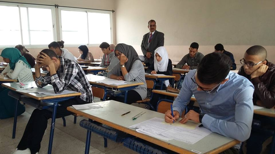 مدير الأكاديمية يتفقد سير أجواء الامتحان الوطني لنيل شهادة الباكالوريا بجهة سوس ماسة