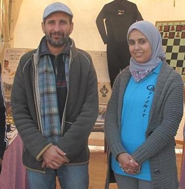تعيين المختار الصالحي و امينة باموس لقيادة منتخبات الشطرنج المغربي في المنافسات الدولية