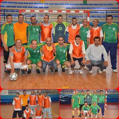 مقابلة ودية في كرة القدم من تنظيم جمعية الأعمال الاجتماعية الوطنية لأطر ومستخدمي مؤسسات الرعاية الاجتماعية بالمغرب