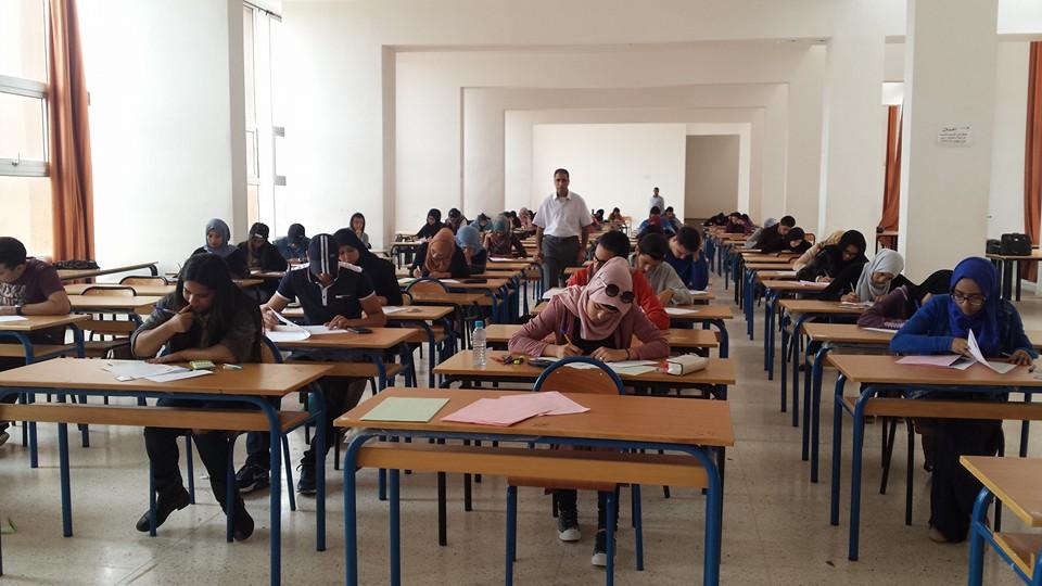 109 آلاف تجتاز الدورة الربيعية بجامعة ابن زهر و ضبط 145 حالة غش