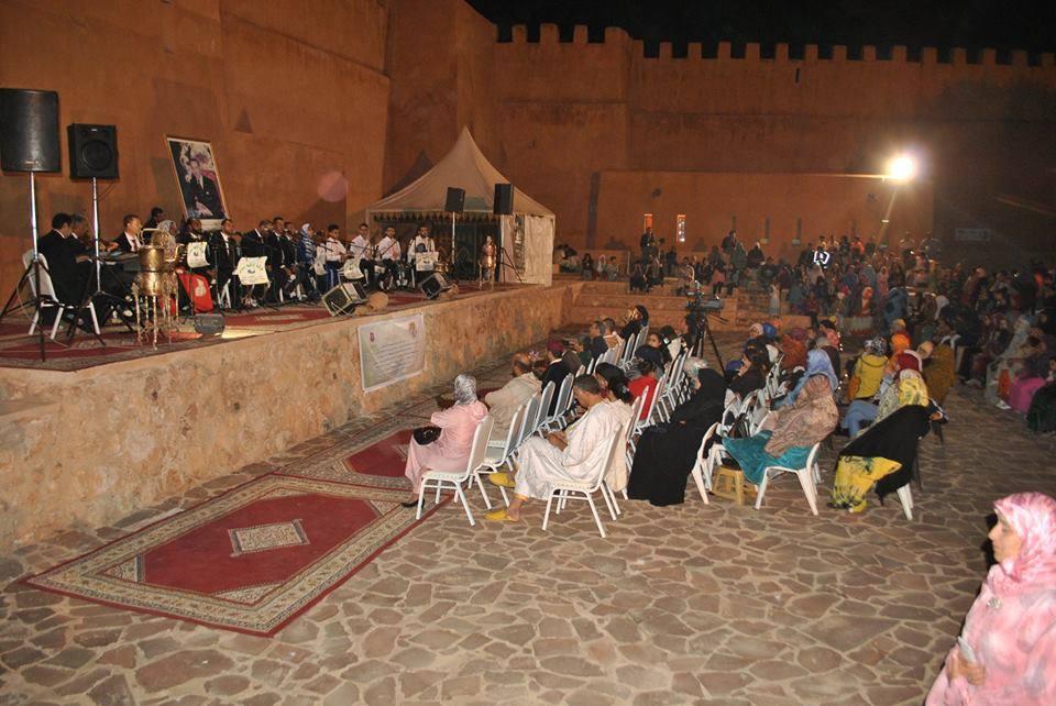 بالصور : حفل اكراو للمديح والسماع الصوفي النسائي