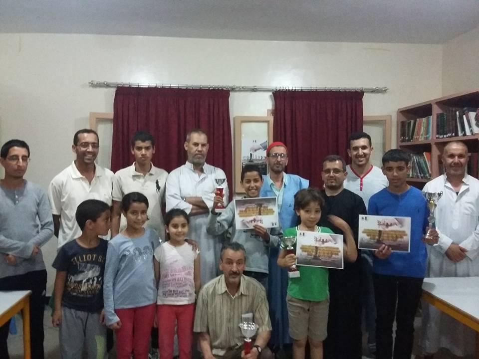 محمد المختاري بطلا للدوري الثامن الرمضاني في الشطرنج