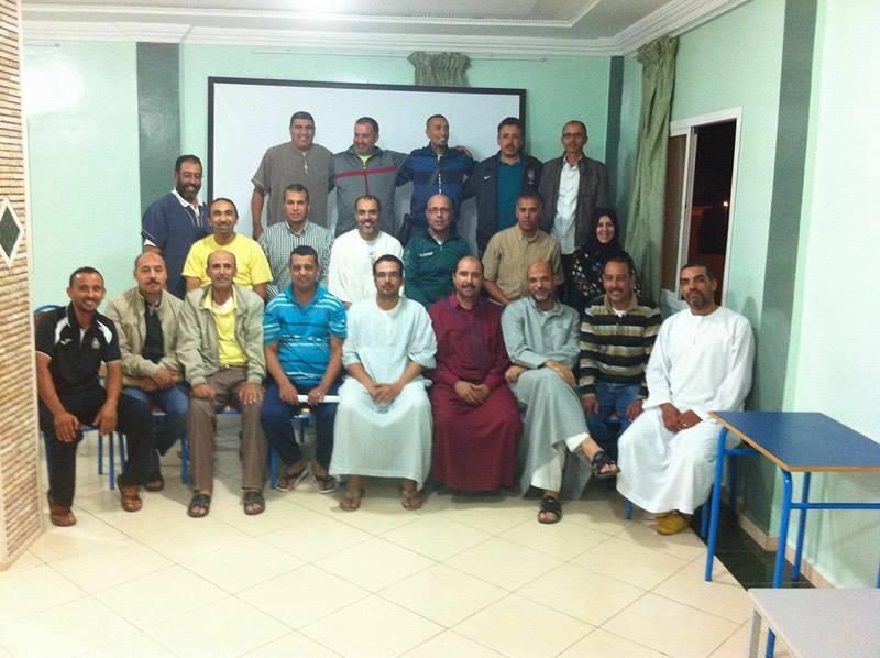 تجديد الثقة في عبد الله شنايتي رئيسا لجمعية أساتذة التربية البدنية بتيزنيت لولاية جديدة
