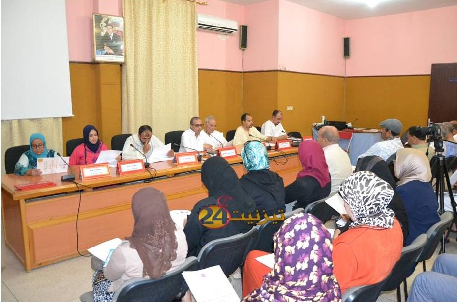 جماعة تيزنيت تعقد لقاء تواصليا مع اعضاء هيئة المساواة وتكافؤ الفرص ومقاربة النوع