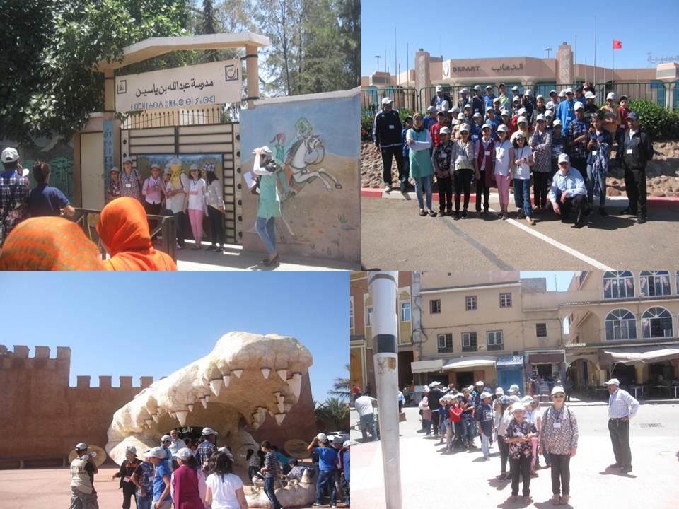مدرسة الأميرة للا مريم بتيزنيت في رحلة مدرسية إلى مدينتي تارودانت و أكادير