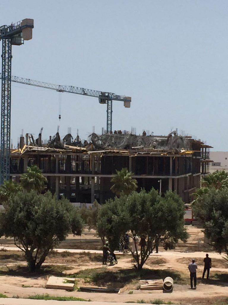 اكادير : شركة البناء تعتذر للصحفيان اللذان تعرضا للإعتداء بحي صونابا ( البلاغ )