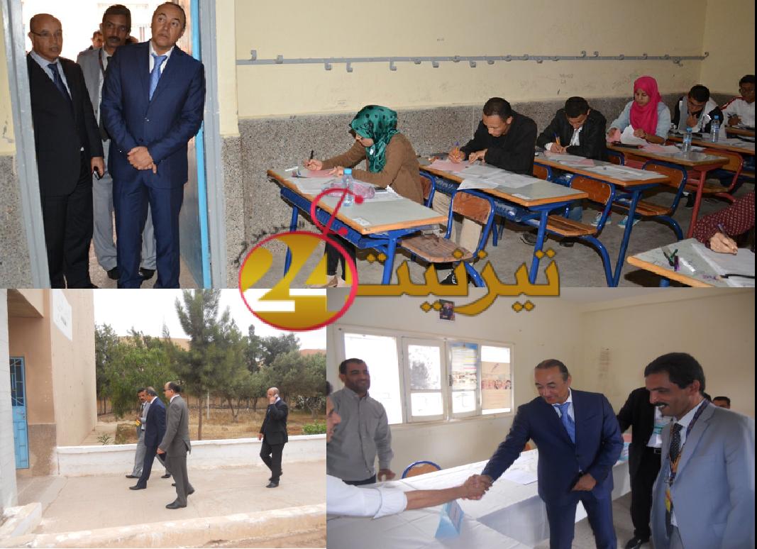 تيزنيت : 3 آلاف و529مترشحا(ة) لاجتياز الامتحان الجهوي لنيل شهادة الدروس الاعدادية