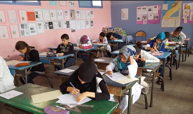 بلاغ حول امتحانات شهادة نيل الدروس الابتدائية بالمديرية الإقليمية بسيدي إفني