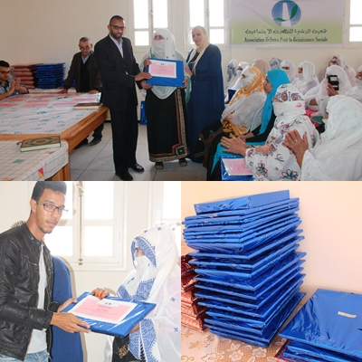 بالصور- جمعية الدشيرة للنهضة الاجتماعية تنظم مسابقة قرآنية
