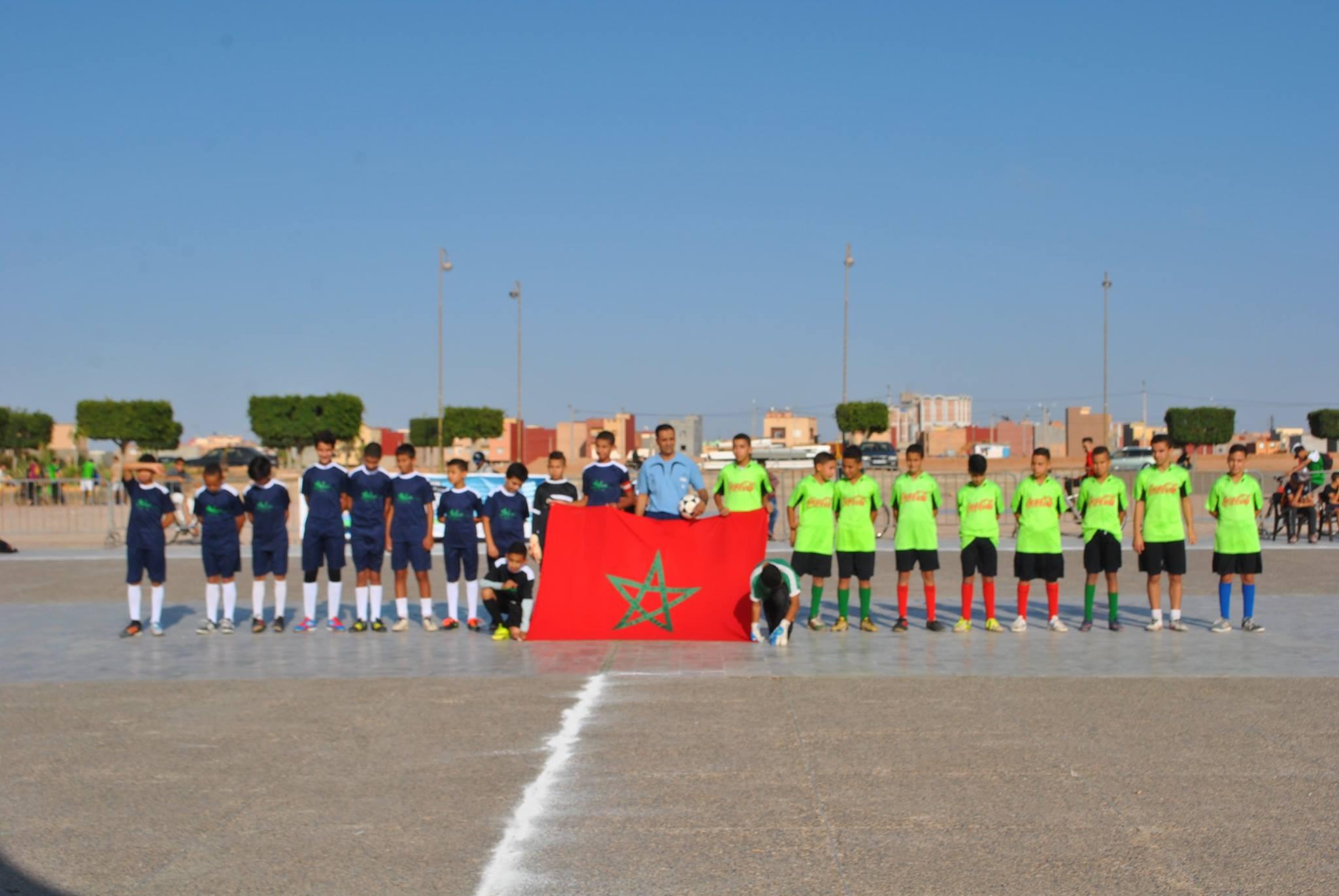اسدال الستار على النسخة الثالثة لدوري الأجيال لكرة القدم المصغرة