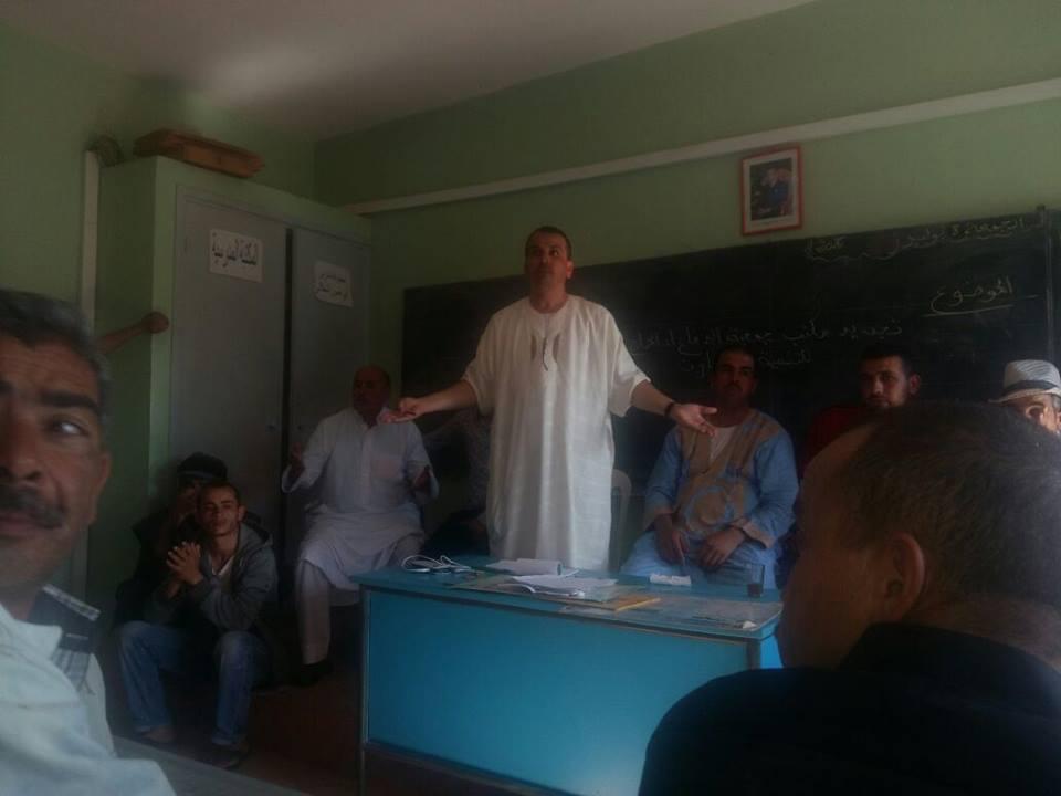 تجديد مكتب جمعية الوحدة للتنمية والتعاون والثقافة والرياضة بجماعة سيدي بوعبدلي