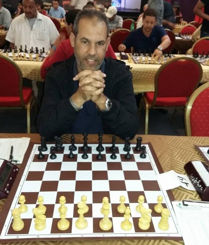 محمد المختاري لاعب امل تيزنيت للشطرنج يتالق في جائزة محمد السادس الدولية