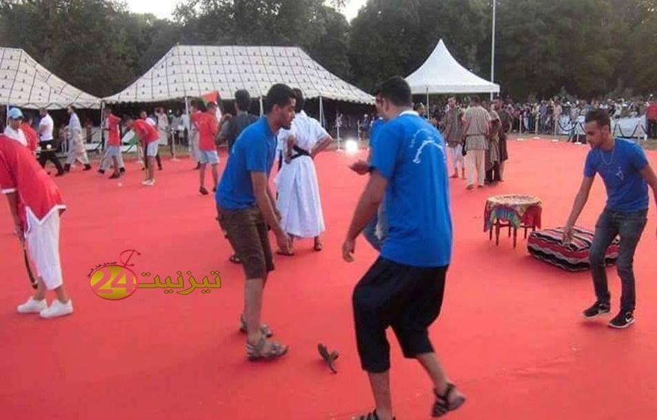 تيزنيت تشارك في المهرجان العربي للالعاب و الرياضات التقليدية